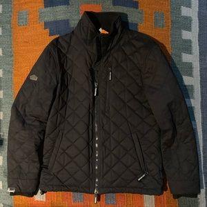 Superdry Microfiber Quilted Jacket